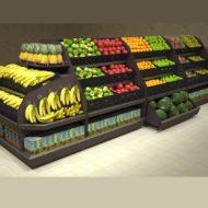 Овощные и фруктовые развалы